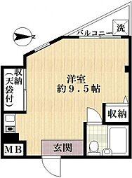 第7モロビル[4階]の間取り