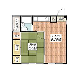 ルーチェ別院町[5階]の間取り