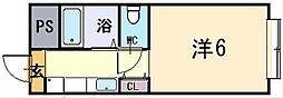 レジデンス光陽[3階]の間取り