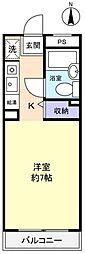 千葉県八千代市村上の賃貸マンションの間取り