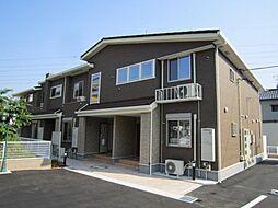 愛知県岡崎市大平町字天神前丁目の賃貸アパートの外観