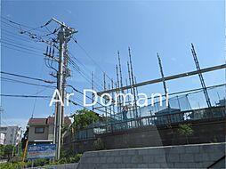 千葉県松戸市久保平賀の賃貸アパートの外観
