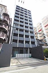 大阪府大阪市中央区上汐1の賃貸マンションの外観