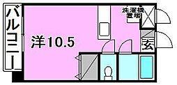 アルト平和通[305 号室号室]の間取り