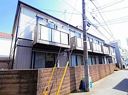 東京都西東京市田無町2丁目の賃貸アパートの外観