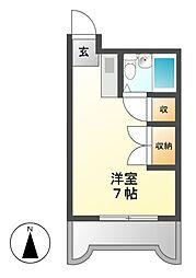 サンファミリー鈴木[7階]の間取り