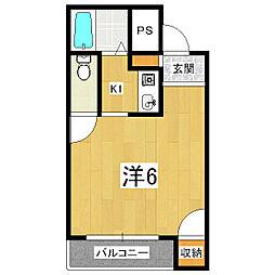 キャビンエイト[3階]の間取り