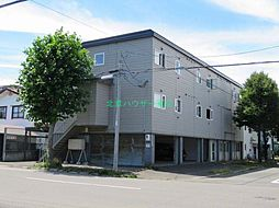 北海道札幌市東区北二十条東2丁目の賃貸マンションの外観