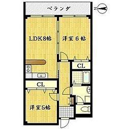 コート・サンファイン[5階]の間取り