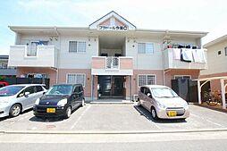 香川県高松市今里町の賃貸アパートの外観