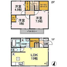 [一戸建] 静岡県三島市松本 の賃貸【/】の間取り