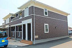 兵庫県明石市松江の賃貸アパートの外観