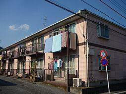 埼玉県北葛飾郡松伏町田中2丁目の賃貸アパートの外観