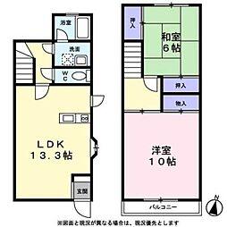 寓[103号室]の間取り
