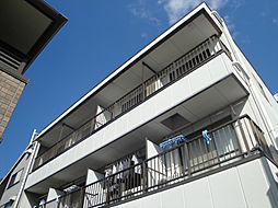 東京都日野市旭が丘1丁目の賃貸マンションの外観