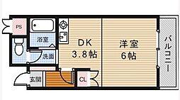 スペースウイング[2階]の間取り