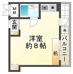 メゾン須磨[2階]の間取り