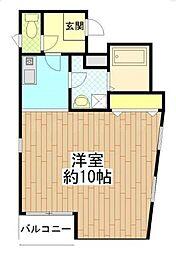 ゼフィール横浜[2階]の間取り