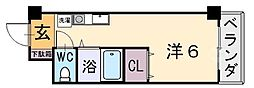 アリスYAO[105号室]の間取り