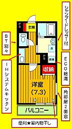フォレスト・K[2階]の間取り