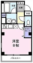 東京都墨田区東向島1丁目の賃貸マンションの間取り