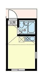 ユナイト井土ヶ谷ロレンツォの杜[2階]の間取り