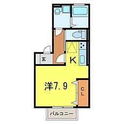 仮) D-room今池町[101号室]の間取り