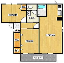 カンポMIZUKA[2階]の間取り