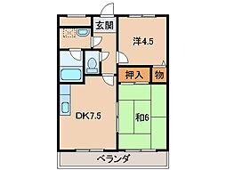 カオスマンション[2階]の間取り