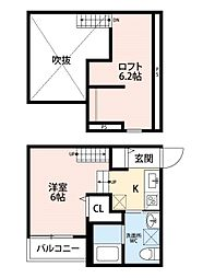 TOSCANINI(トスカニーニ)[1階]の間取り