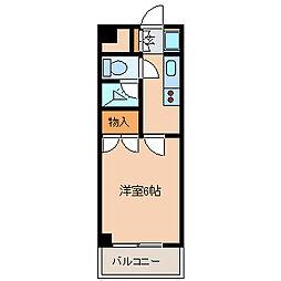 東京都江戸川区東葛西6の賃貸マンションの間取り