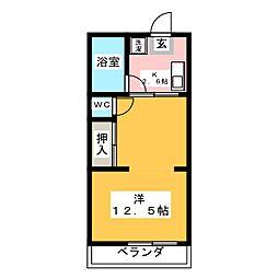 レジデンス21[1階]の間取り