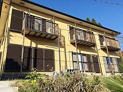 千葉県大網白里市池田の賃貸アパートの外観