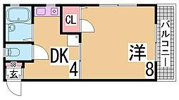 西代駅 3.3万円