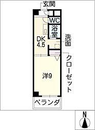 グリーンコートK[2階]の間取り