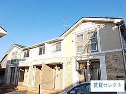 千葉県松戸市常盤平7丁目の賃貸アパートの外観