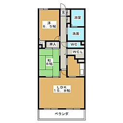 グレイス覚王山[3階]の間取り