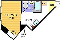 ヴェール横浜[110号室]の間取り