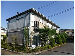 埼玉県上尾市本町5丁目の賃貸アパートの外観