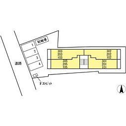 ライム ライト 岐阜[3階]の外観