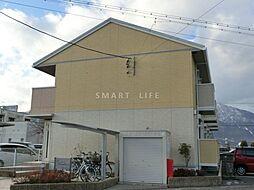 滋賀県大津市和邇中浜の賃貸アパートの外観
