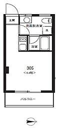 東京コミュプラス[305号室]の間取り