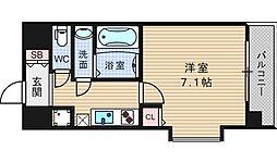 ViVi EBISU[11階]の間取り