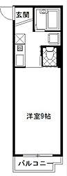 COCO GURAN'S MARUBISHI[3階]の間取り
