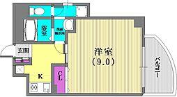 兵庫県神戸市中央区熊内町7丁目の賃貸マンションの間取り