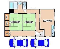 [一戸建] 兵庫県神戸市西区玉津町今津 の賃貸【/】の間取り
