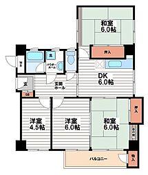 多田ビル[3階]の間取り