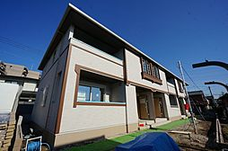 千葉県千葉市緑区誉田町3丁目の賃貸アパートの外観