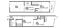 [一戸建] 兵庫県尼崎市武庫之荘東2丁目 の賃貸【/】の間取り
