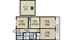 北信太駅 5.8万円